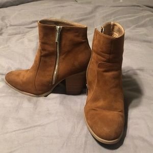 Brown booties size 8.5!